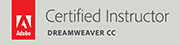 Adobe certified instructor Dreamweaver CC
